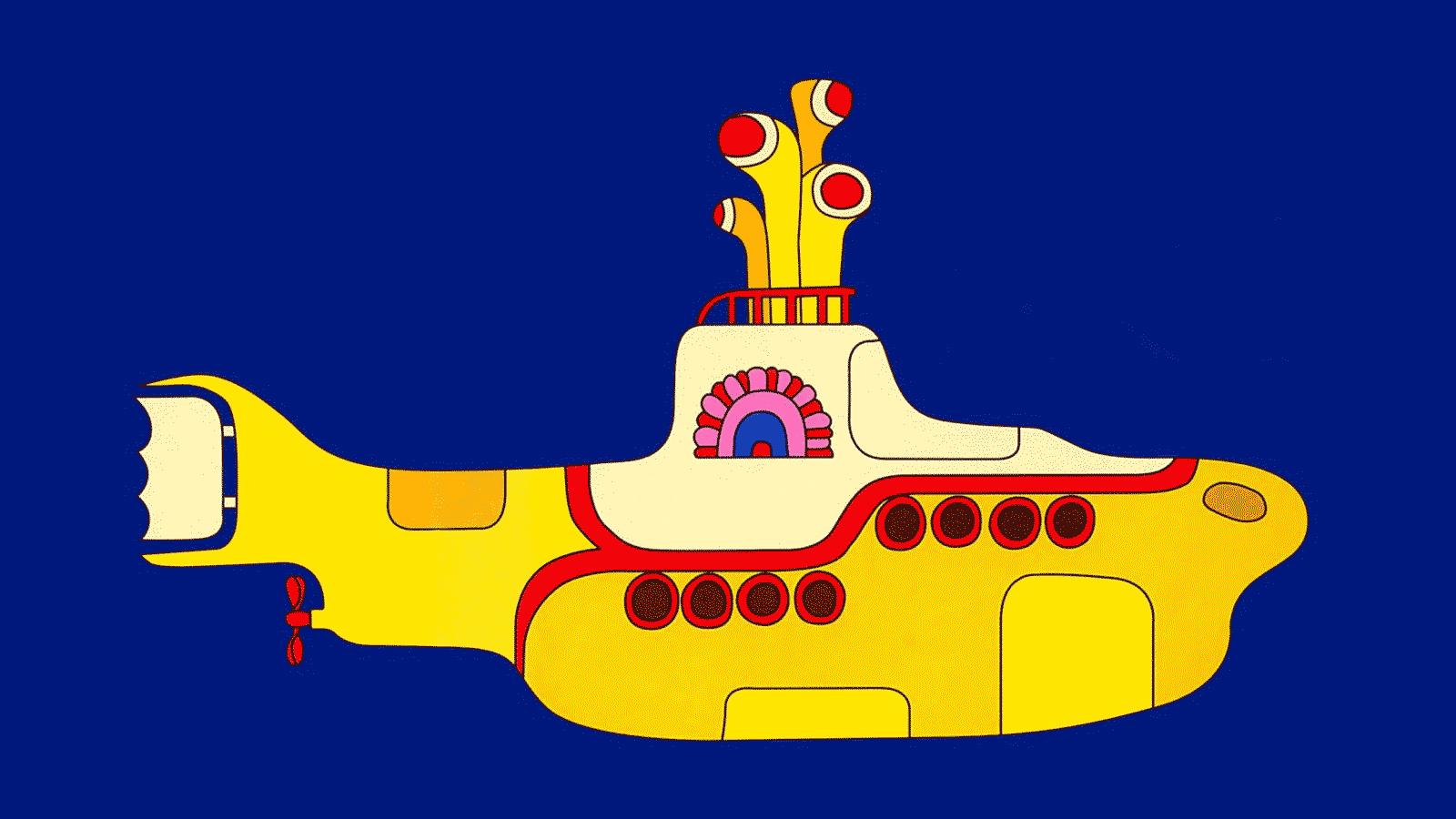 Yellow Submarine azaz a Sárga Tengeralattjáró