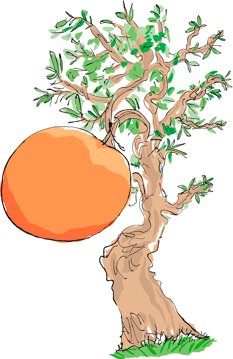 james-and-the-giant-peach-tree