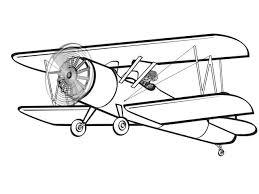 Biplane_Clipart
